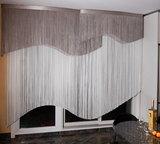 Нитяные шторы изготовлены не из ткани, а из отдельных нитей