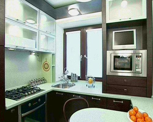 Смотреть дизайн кухни в квартире фото