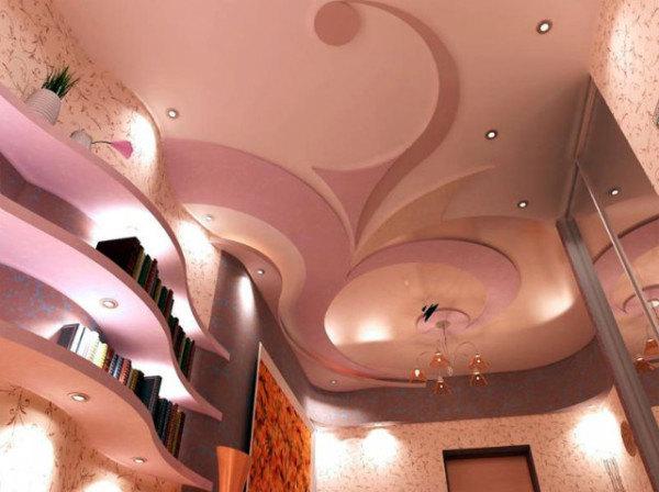 Рисунки для потолка из гипсокартона