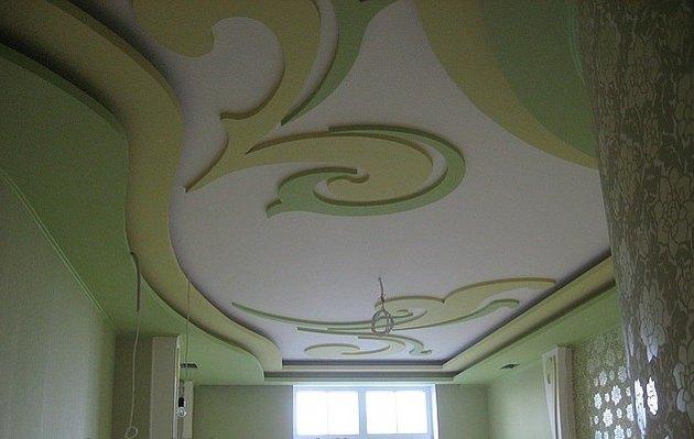 Красивые потолки своими руками фото