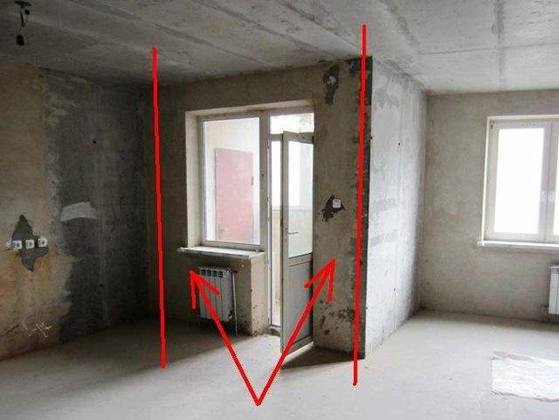 Планировка 3-х комнатной квартиры с тремя спальнями